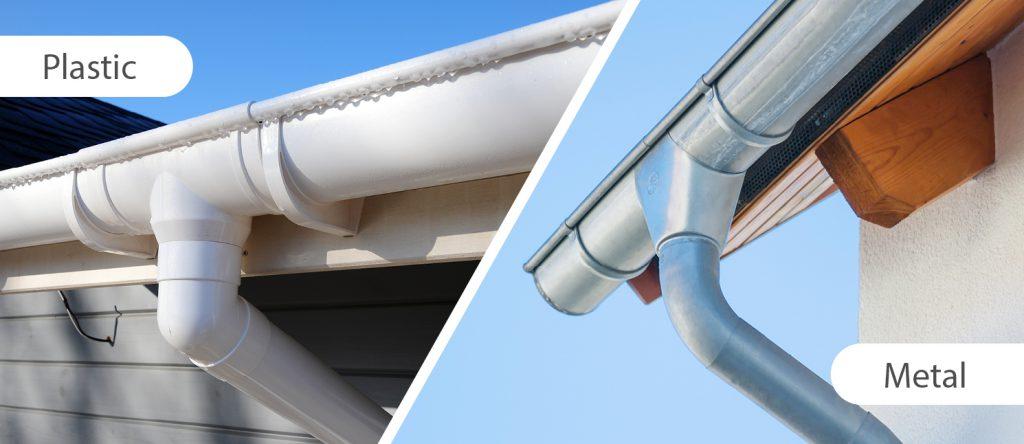 Metal Guttering Vs Plastic Pvc Guttering Jtc Roofing