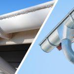 Metal Guttering vs Plastic (PVC) Guttering