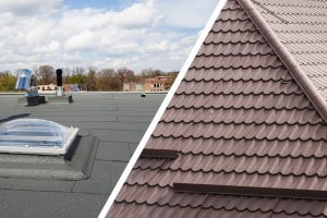 Pitched Roofing vs Flat Roofing