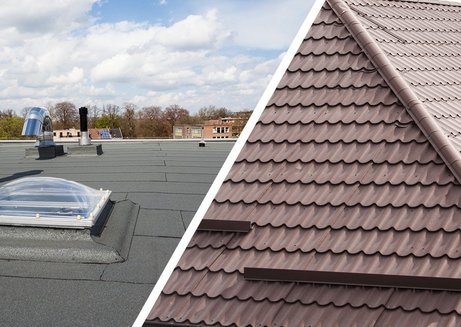 Pitched Roofing Vs Flat Roofing Designs