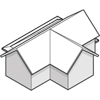 Cross Gabled Roof