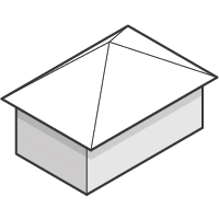 Pyramid Hip Roof