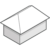 Simple Hip Roof