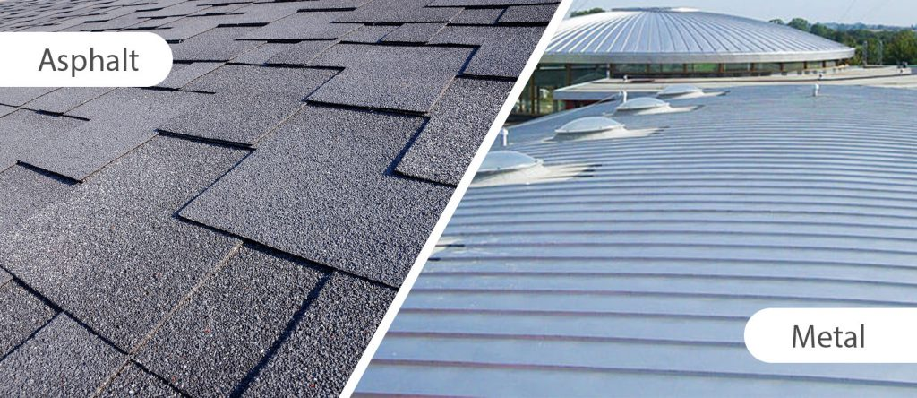 Metal Roof vs Asphalt Shingles includes Costs Comparison – Cost Difference Between Asphalt Shingles And Metal Roof