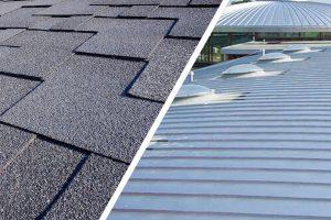 Metal Roof vs Asphalt Shingles