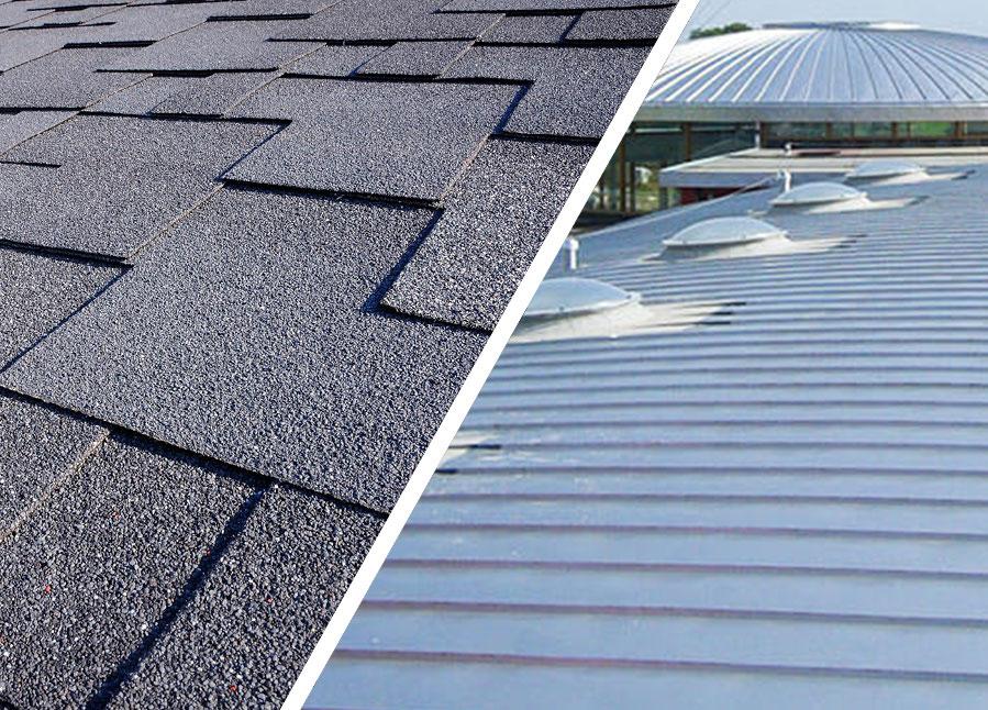 Metal Roof Vs Asphalt Shingles Includes Costs Comparison